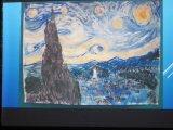Sternenhimmel von Antonia, Klasse 4a