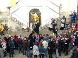 Stadt, Kloster und Schule begrüßen Walburga