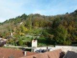 Blick auf den Klostergarten