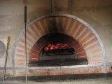 Steinofen für die Pizza