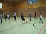 Ballspiel in der Halle