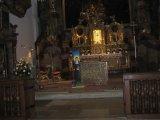 Unsere Walburgafigur in der Kirche