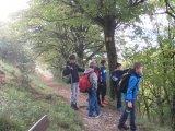 Klasse 4b auf dem Weg nach Wintershof